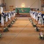 DIY Pew Decorations for Weddings Ideas Bow Decorations For Weddings Home Amp Furniture Design Design Of