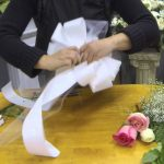 DIY Pew Decorations for Weddings Ideas How To Make Pew Bows With Tulle Ribbon And Fresh Flowers Youtube