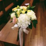 DIY Pew Decorations for Weddings Ideas Wedding Chairpew Decorations Wed10 Floral Garage Singapore