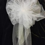 DIY Pew Decorations for Weddings Ideas Wedding Pew Bows White Or Any Color You Choose Tule Bows With