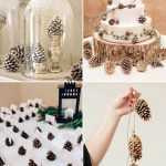 Inexpensive Wedding Decor Pine Cone Winter Wedding Decorations inexpensive wedding decor|guidedecor.com