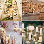 Inexpensive Wedding Decor Winter Wedding Candles inexpensive wedding decor|guidedecor.com