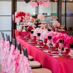 Pink And Black Wedding Decorations For The Reception Hot Pink And Black Wedding Decoration Ideas 9 pink and black wedding decorations for the reception|guidedecor.com