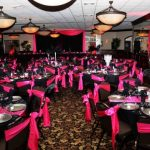 Pink And Black Wedding Decorations For The Reception Recept pink and black wedding decorations for the reception|guidedecor.com