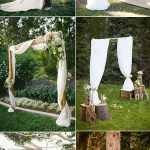 Simple Wedding Arch Decorations Elegant And Romantic Rustic Country Wedding Arboraltar And Arch Ideas simple wedding arch decorations|guidedecor.com
