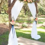 Simple Wedding Arch Decorations Simple Rustic Diy Floral And Wood Wedding Altar Ideas simple wedding arch decorations|guidedecor.com