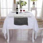 Tablecloth Decorations For Wedding Wedding Party Table Runner Burlap Natural Jute Imitated Linen Rustic Table Decoration Accessories Table Cloth Home tablecloth decorations for wedding|guidedecor.com