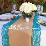 Teal Green Wedding Decorations Burlap Table Runner Tealgreen Lace3ft 10ft X14quot 16quotwidepeacockwedding Decorteal Weddingstable Decorcenterpieceother Color Options teal green wedding decorations|guidedecor.com