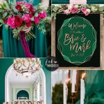 Teal Green Wedding Decorations Dark Green Pink Peacock Rub teal green wedding decorations|guidedecor.com