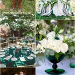 Teal Green Wedding Decorations Emerald Green Wedding Color Ideas For Fall Wedding teal green wedding decorations|guidedecor.com
