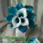 Teal Green Wedding Decorations Oasis Teal Wedding Flowers Teal Blue Calla teal green wedding decorations|guidedecor.com