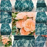 Teal Green Wedding Decorations Tealgreen Lace Table Runner7quot Wide X12ft 20ft Longwedding Decorpeacock Weddingsoverlayteal Table Runnerreception Decor Ideas teal green wedding decorations|guidedecor.com
