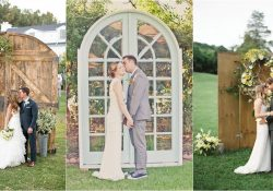 Wedding Decorations Outside Old Door Wedding Backdrop Arch Ideas wedding decorations outside|guidedecor.com