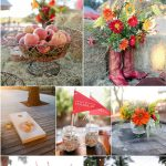 Wedding Decorations Outside Rustic Outdoor Red Wedding Ideas wedding decorations outside|guidedecor.com