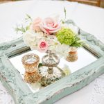 Wedding Table Decor Ideas Mint And Pink Vintage Wedding Cenpieces wedding table decor ideas|guidedecor.com